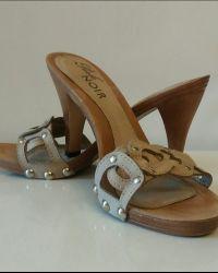 Kozne papuce Perle Noir 1